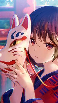 Vamos falar um pouquinho da Cultura tradicional japonesa? O Japão é um país que possui uma grande variedade de máscaras tradicionais no teatro e cada uma tem a sua lenda, vem conhecer as mascaras mais populares do Japão! Let's go? Anime Chibi, Anime Manga, Manga Girl, Otaku Anime, Mascara Anime, Me Me Me Anime, Anime Guys, Sweet Magic, Overwatch