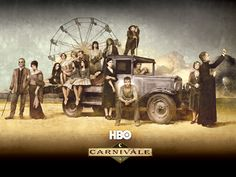 Carnivale...why oh why did this show have to get cancelled? Gorgeous and amazing.