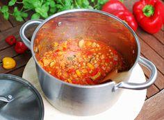 Vegan one pot red and green lentil veggie chilli Green Lentils, Vegan Recipes Easy, Veggies, Ethnic Recipes, Red, House, Easy Vegan Recipes, Vegetable Recipes, Green Contacts