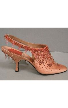 House of Dior Evening Shoes, circa 1954 designed by Roger Vivier, HT