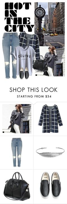 """""""#145"""" by blacksky000 ❤ liked on Polyvore featuring Avenue, MAGJAY, Chicnova Fashion, River Island, Nadine S, Givenchy and Vans"""