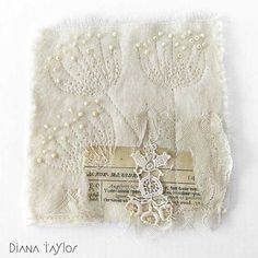 More Winter Embroideries and WOYWW #364