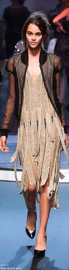 #Paris FW Jean Paul Gaultier Spring / Summer 2014 RTW