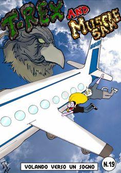 Miciosegone Games Dev Blog: T-REX E MUSCLE SAM: Volando verso un sogno