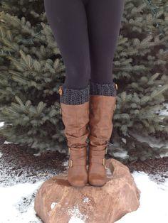 Womens Crochet Boot Cuffs