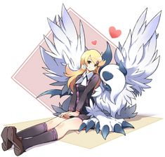 Astrid and her Mega Absol