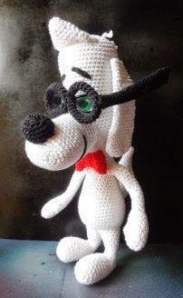 2000 Free Amigurumi Patterns: Mr. Peabody from the movie Mr. Peabody & Sherman crochet pattern