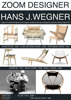 Hans Wegner - icons of the 20th Century