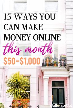 Extra money is out there to be made, IF you know where to look. Here's a list of 15 unique ways to make money online. Work from home Earn More Money, Make Money Fast, Earn Money Online, Make Money Blogging, Money Tips, Saving Money, Money Plan, Managing Money, Cash From Home