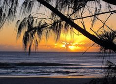 Sunrise Gold Coast Queensland. Australia. Brought to you by Femme Classic Art http://www.femme-classic-art.com Tags: win trip to Australia pin it! Contest competition