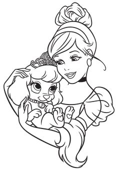palace pets coloring pages - google-søgning | värityskuvat ... - Disney Palace Pets Coloring Pages