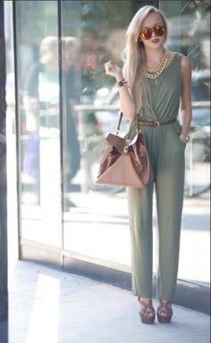 Looks com macacão   Estilo moderno e elegante