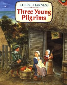 Three Young Pilgrims Simon & Schuster Books for Young Rea. Beautiful Feet Books, Thanksgiving Books, Thanksgiving Videos, Thanksgiving History, Thanksgiving Celebration, Pilgrims And Indians, Reading Levels, May Flowers, American History