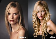 Gallery   Multiply Your Hair - Before and After of Hair Extensions