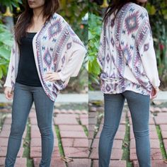 The SULMA print cardigan - MAUVE mix Super soft & great for layering. ‼️NO TRADE‼️ Jackets & Coats