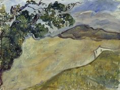 Osvaldo Licini – Paesaggio – 1924