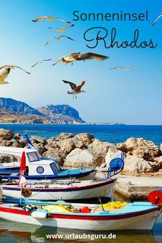 Das sind die Highlights der Sonneninsel Rhodos in Griechenland! Zakynthos, Cool Pictures, Beautiful Pictures, Reisen In Europa, Samos, Greece Islands, Most Beautiful Beaches, Beautiful Islands, The Good Place