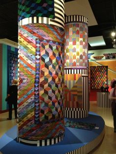 Kaffe Fassett exhibition at the Fashion and Textile Museum