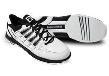 Brunswick Arrow - (White/Black) Bowling Shoes - (Free Shipping). Soft durable man-made upper. Komfort-Fit™construction. Fully textile lined with padded tongue and collar. EVA midsole with synthetic welt for cushioned comfort and light weight. Microfiber slide pad on both feet with FlexSlide Technology™. Non-marking rubber outsole with raised heel. Color: White/Black. Sizes: 7-12, 13, 14. Gender: Mens. 1 Year Warranty. Bowling Outfit, Bowling Shoes, Better One, 1 Year, Arrow, Adidas Sneakers, Gender, Free Shipping, Heels