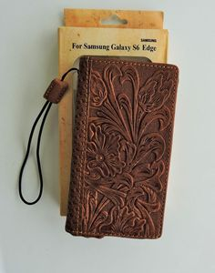 Brown Montana West Tooled Leather Cell Phone Case for Samsung Galaxy S6 Edge  | Cell Phones & Accessories, Cell Phone Accessories, Cases, Covers & Skins | eBay!