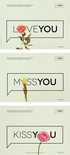 Branding for Hiiris flower boutique was part of my bachelor thesis. To define how the company appears in marketing communication, I decided to share a few ideas through advertising.