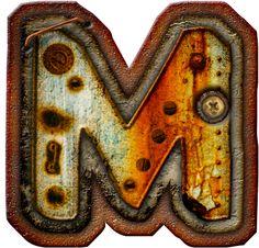 CH.B *✿* Alfabeto metal oxido..M