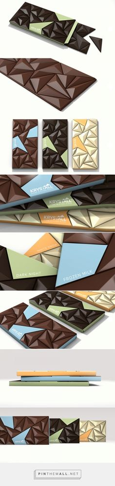 Krystall Chocolate Bar by Riccardo Carle