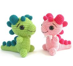 Baby Crochet Dragon [Free Amigurumi Pattern] Baby Dragon belongs to the top collection of Amigurumi. What to do with super baby dragons? Sell or give to your friend and what the best solution – keep it for yourself. #freecrochetpatternsamigurumi #freecrochetpatternstoy