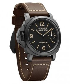 The @paneraiofficial (PAM00786) Luminor Black Seal Left-Handed 8 Days is one in a special, limited-edition set of two new watches, inspired by the originals made for Sylvester Stallone in 1996. It features a 44-mm-diameter case made of stainless steel coated with DLC. More @: http://www.watchtime.com/wristwatch-industry-news/watches/panerai-luminor-8-days-set-pays-tribute-to-early-stallone-models/ #panerai #watchtime #menswatches #watchnerd #SIHH2016