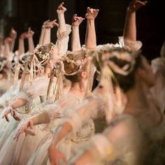 """andantegrazioso: """"Ribbons, tulle and flowers 