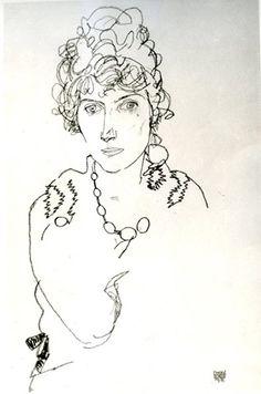 Edith Schiele - Egon Schiele