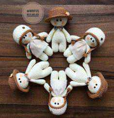 Bichinhos de Crochê: ideias lindas para decorar ou brincar! - Como Fazer