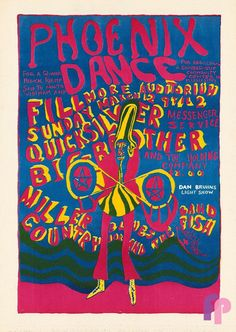 Big Brother and the Holding Company at Fillmore. Auditorium 3/12/67 by Michael Hubbard..Performers: Big Brother and the Holding Company Quicksilver Messenger Service Country Joe & the Fish Miller Blues Band16