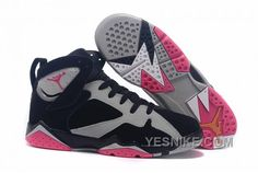 """on sale d1099 f5a4d Find Girls Air Jordan 7 """"Fuchsia Flash"""" Black Sport Fuchsia Pink-Grey For  Sale online or in Footlocker. Shop Top Brands and the latest styles Girls  Air ..."""