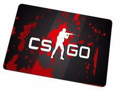 cool cs go mouse pad red splatter large pad to mouse computer mousepad Christmas gift gaming mouse mats to mouse gamer