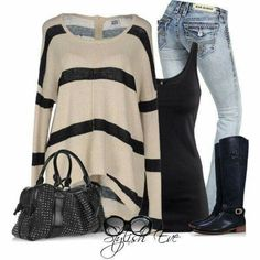 I love this outfit but a different bag would be better