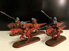 Cavalry, Cold One, Dark Elves, Imperial Guard, Rough Riders, Tallarn Desert Raiders
