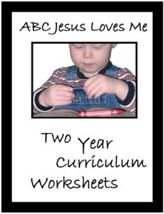 2 Year Curriculum Worksheets - Christian homeschooling for ages 2-5 for FREE!