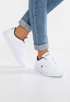 Chaussures Lacoste ENDLINER - Baskets basses - white/navy blanc: 99,95 € chez Zalando (au 23/12/17). Livraison et retours gratuits et service client gratuit au 0800 915 207.