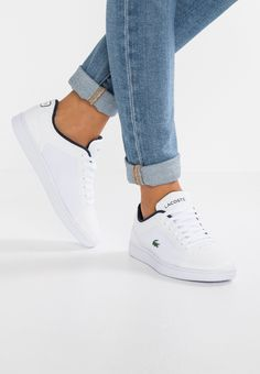new style b6655 6ca9b Chaussures Lacoste ENDLINER - Baskets basses - white navy blanc  99,95 €