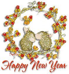 Animated Happy New Year | 歡迎光臨,感謝支持﹗