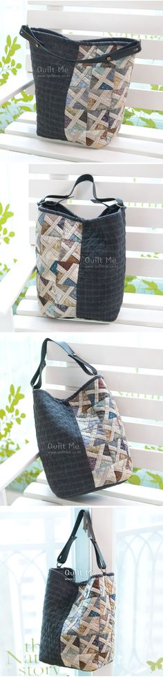 American quilt - Pinwheel Bag (kkeungil is adjustable);