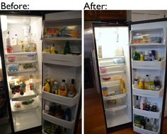 How to Clean a Refrigerator in 20 minutes (or maybe 90)