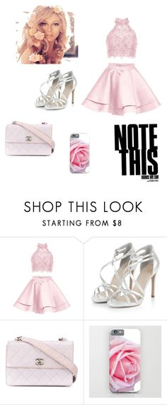"""""""8"""" by clairelove10 ❤ liked on Polyvore featuring Alyce Paris and Chanel"""