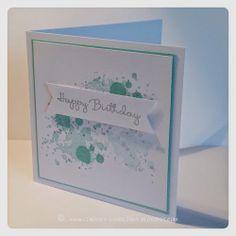 Doodlings: Turquoise Happy Birthday