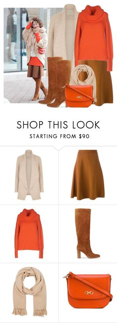 """It's still cold"" by danniss ❤ liked on Polyvore featuring River Island, Marni, Blumarine, Gianvito Rossi, Barneys New York and Salvatore Ferragamo"
