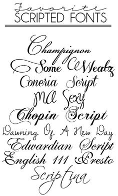 Cursive Calligraphy Fonts Free Download | Free Fonts & Macaroons @ Wedding-Day-Bliss