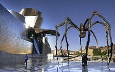 The only spiders I like by Louise Bourgeois
