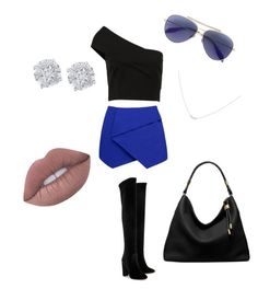 """Happy Friday"" by veronica-g3 ❤ liked on Polyvore featuring Forever New, Aquazzura, Effy Jewelry, Alexander McQueen, Michael Kors and Accessorize"