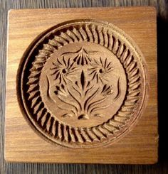 Wood Carved SPRINGERLE Cookie Mold  DOUBLE by SRWhiteCarving